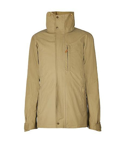 Jacket - The Men's Wax Jacket In Khaki Green