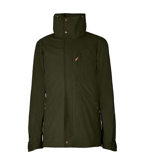 Jacket - The Men's Wax Jacket In Military Green