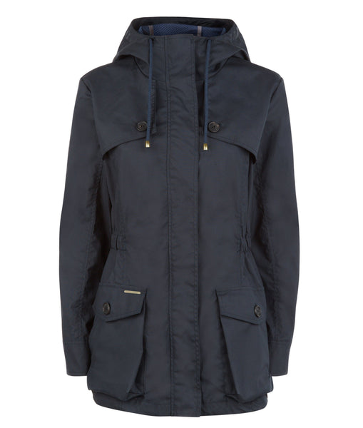 Jacket - Wax Parka In Navy
