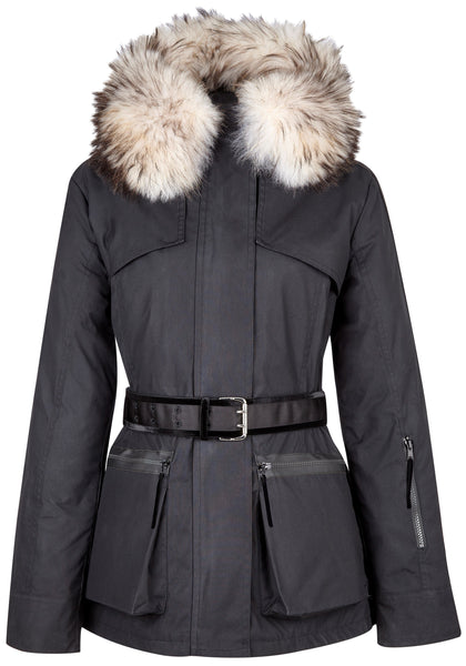 Overcoat - Amanda Wakeley 'Elements' Parka In Black