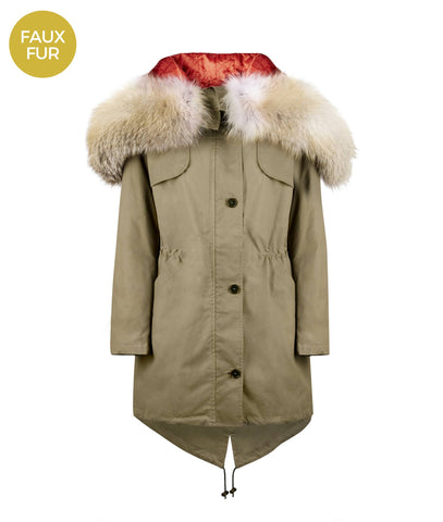 Overcoat - The Limited Edition 'Eagle' Parka With Faux Fur