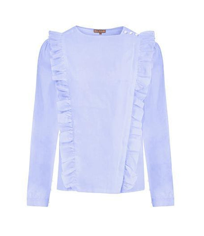 Shirt - The Pinafore Shirt In Blue
