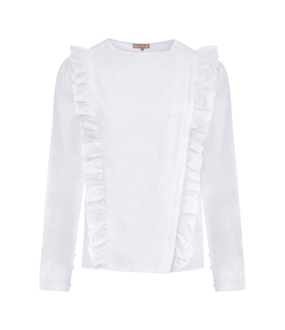 Shirt - The Pinafore Shirt In White