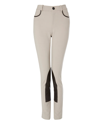 Trousers - Lux Jodhpur In Taupe