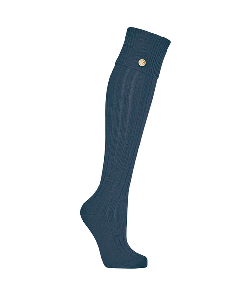 Welly Socks in Forest Ancient Blue