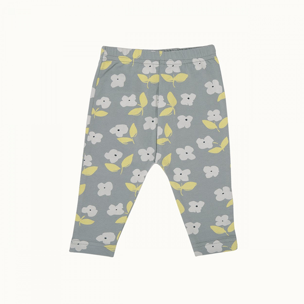 Nature Baby Leggings - Meadow Blue Mist