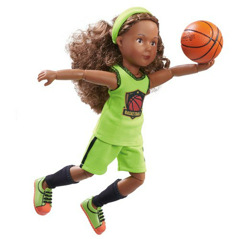 Kruselings Joy Doll - Basketball Training