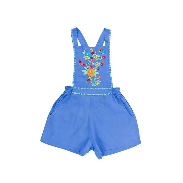 Pomme Playsuit - Periwinkle