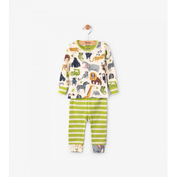 Hatley Pajama Set Baby - Safari