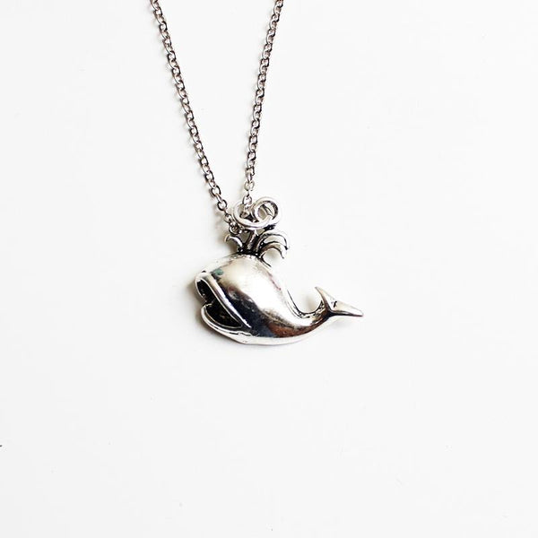 Shorties Bling Necklace - Whale