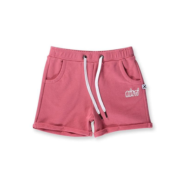 Minti Play Short - Rose
