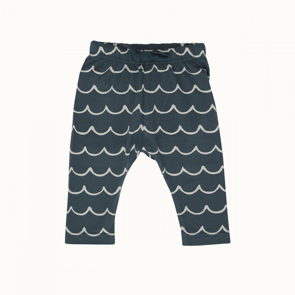 Nature Baby Sunday Pants - Little Wave Marine