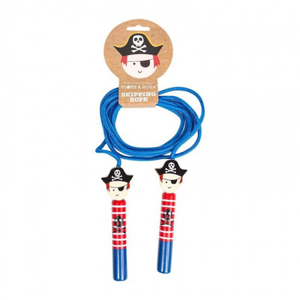 Floss & Rock Skipping Rope - Pirate