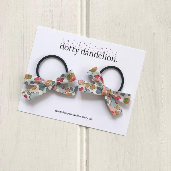 Dotty Dandelion Libby Pigtail Sets - Betsy