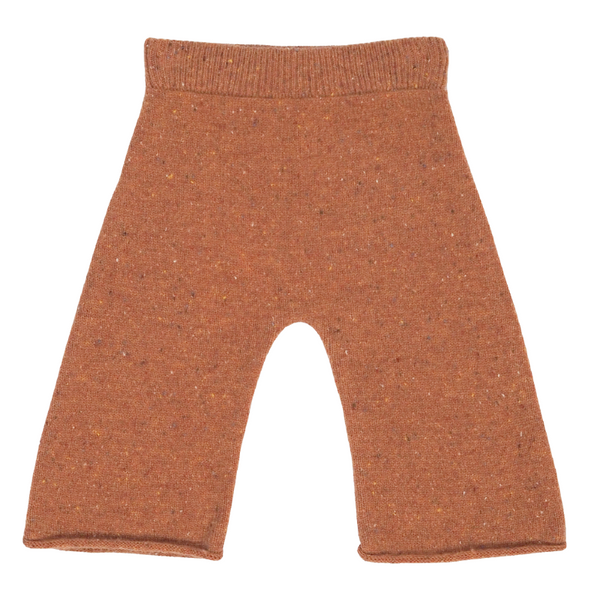 Grown Speckle Merino Pant - Clay