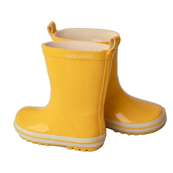 Skeanie Kids Gumboots - Yellow