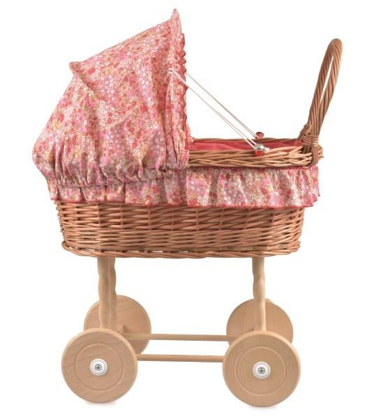 Wicker Dolls Pram Sophie