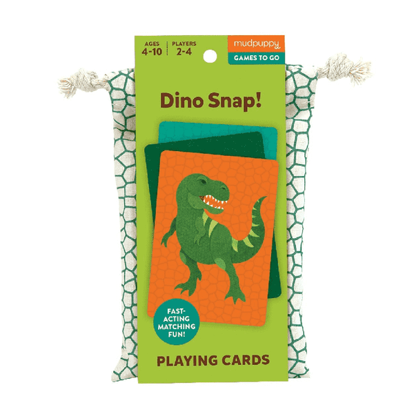 Mudpuppy Travel Game - Dino Snap
