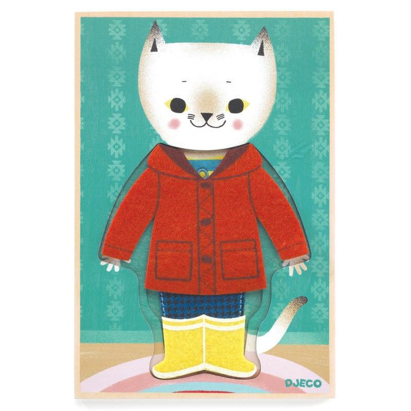 JojoTricot Felt Cat Dress Up