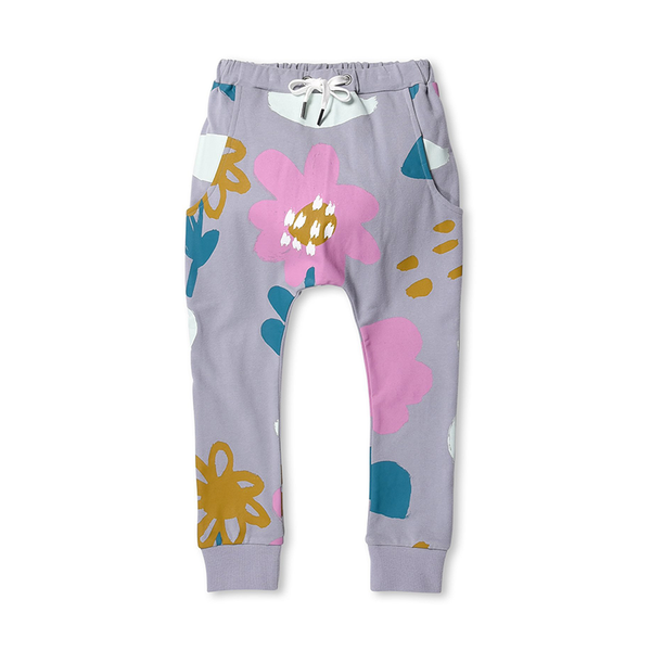 Minti Meadow Trackies - Mist