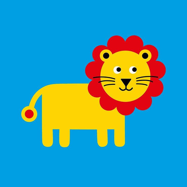 Scoops Card - Lion