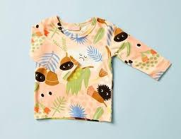 Halcyon Nights baby clothing, onesies, wraps and hats. Australian design, australiana print.