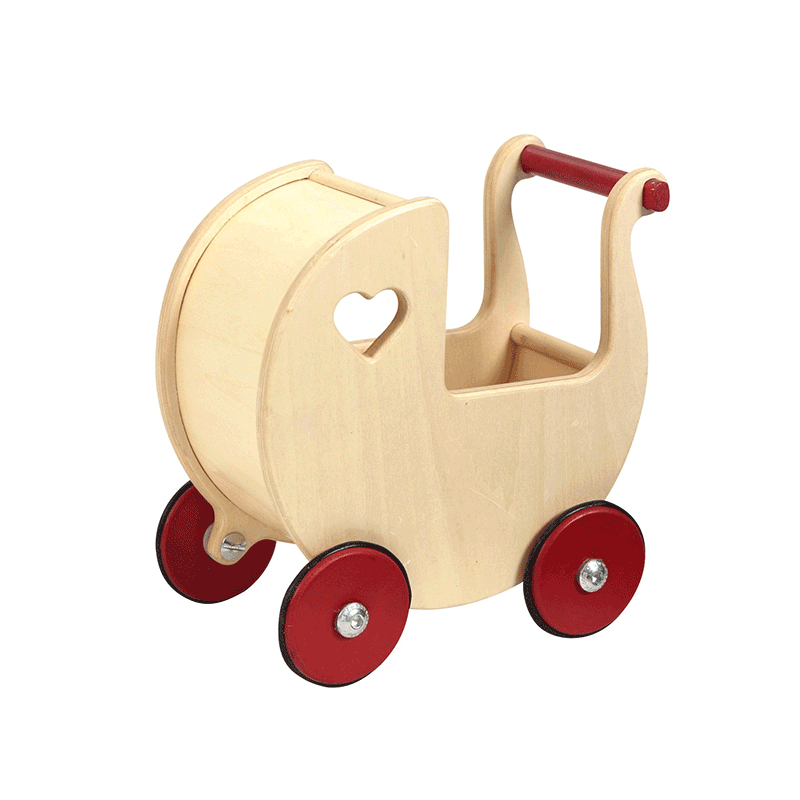 Moover Mini Dolls Pram - Natural