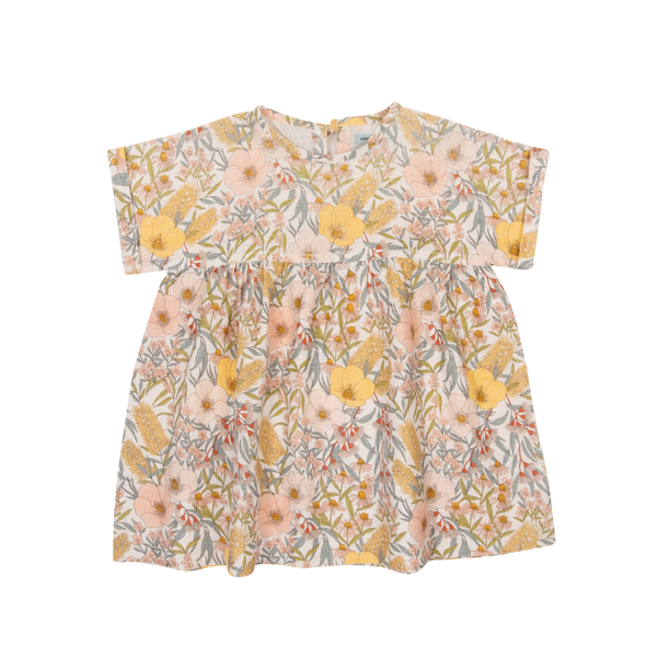 Goldie & Ace Lulu Dress - Vintage Floral Golden