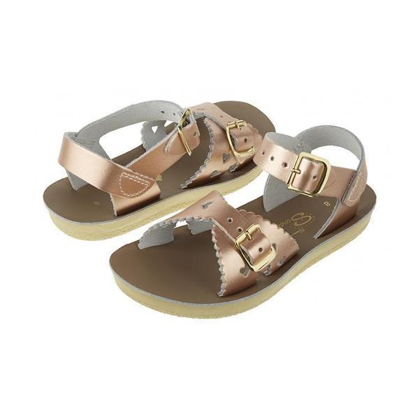 Saltwater Sweetheart Sandals - Rose Gold