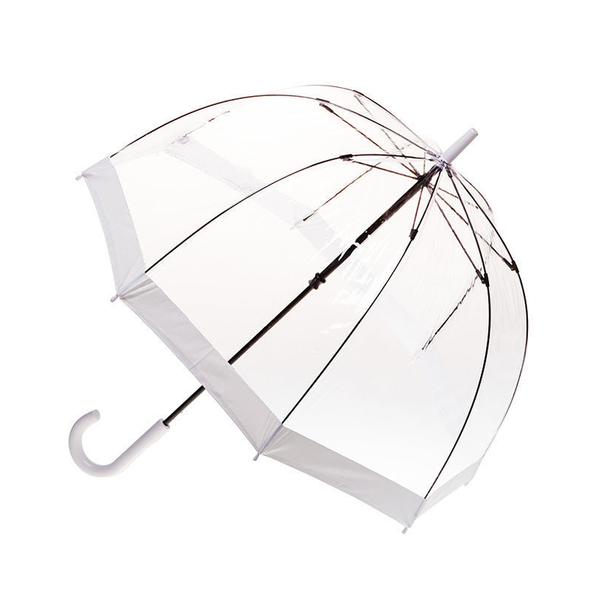 Birdcage Umbrella - White