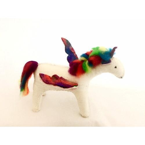 Felt Rainbow Unicorn
