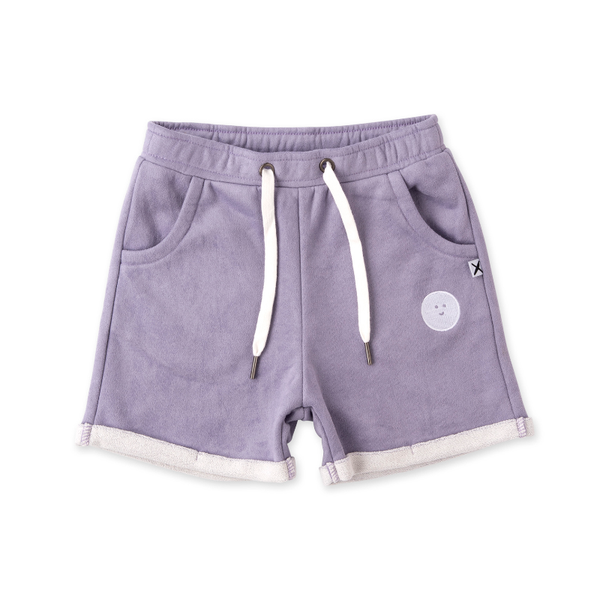 Minti Emoji Peached Short - Lavender