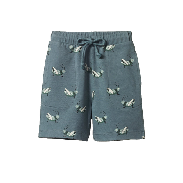 Nature Baby Jimmy Shorts - Grasshopper Spring