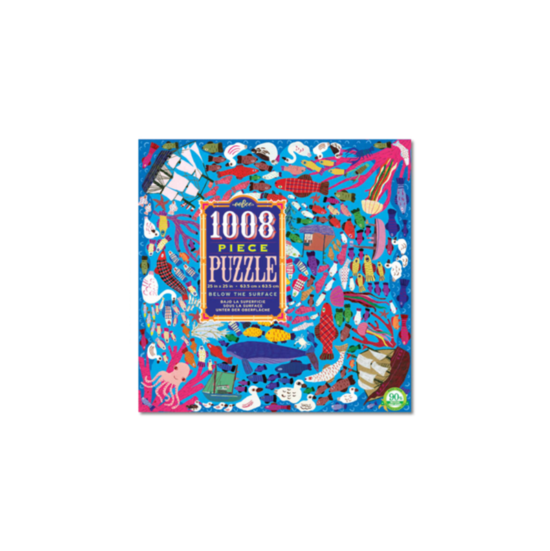 Eeboo 1008 Pc Puzzle - Below Surface