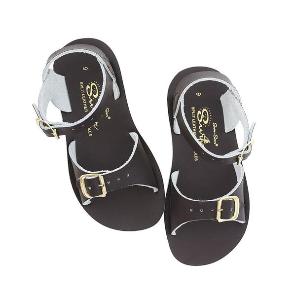 Saltwater Surfer Sandals - Brown