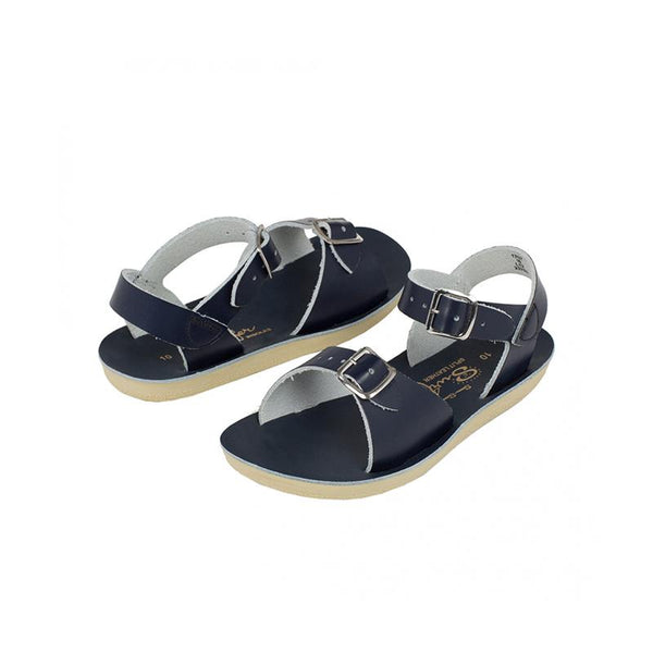 Saltwater Sun-san Surfer Sandals - Navy