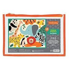Mudpuppy 12Pc Pouch Puzzle - Jungle
