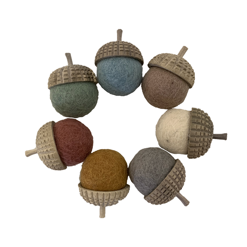 Papoose Earth Acorns Assorted