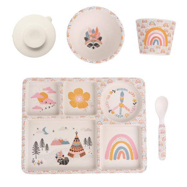 Love Mae Bamboo Dinner Set - Gypsy Girl