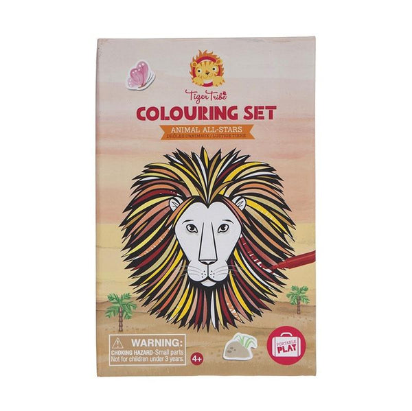 Colouring Set - Animal All Stars