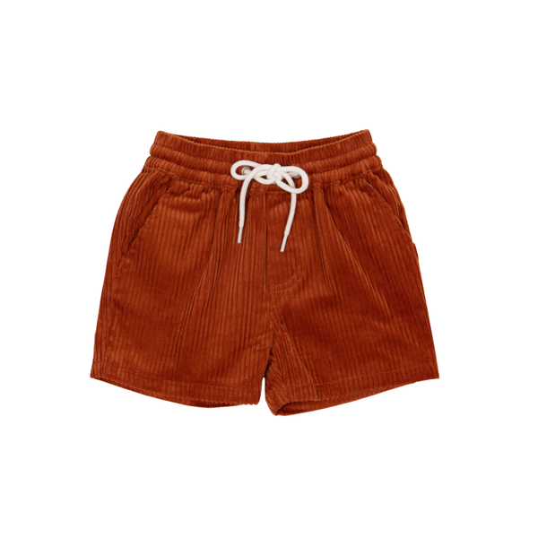 Goldie & Ace Noah Corduroy Short - Cinnamon