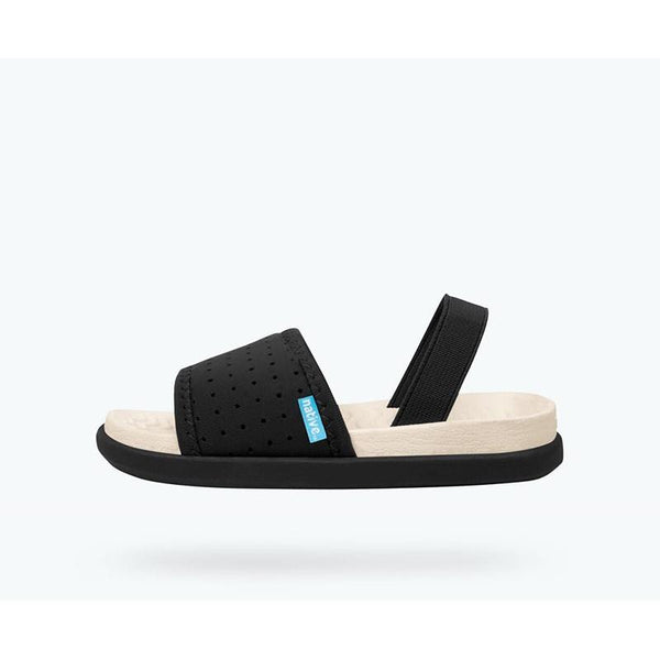 Native Penn Sandals - Black cool shoes for after swimming or gymnastics