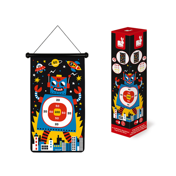 Janod Magnetic Dart Game - Robots