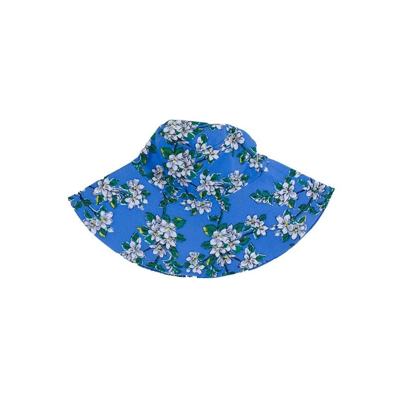 Sun Hat - Periwinkle Blossom