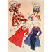 Retro Paper Dolls Set