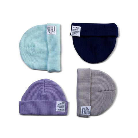 Goose & Dust Slouch and Roll Beanie - Stone