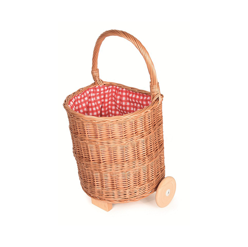 Egmont Wicker Shopping Caddy