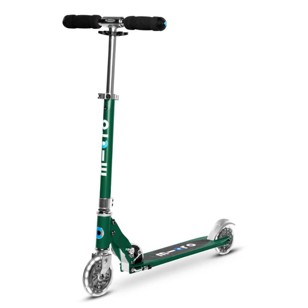 Micro Sprite Scooter - Forest Green LED