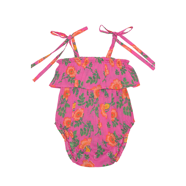 Coco & Ginger Innika Playsuit - Cerise Dogwood