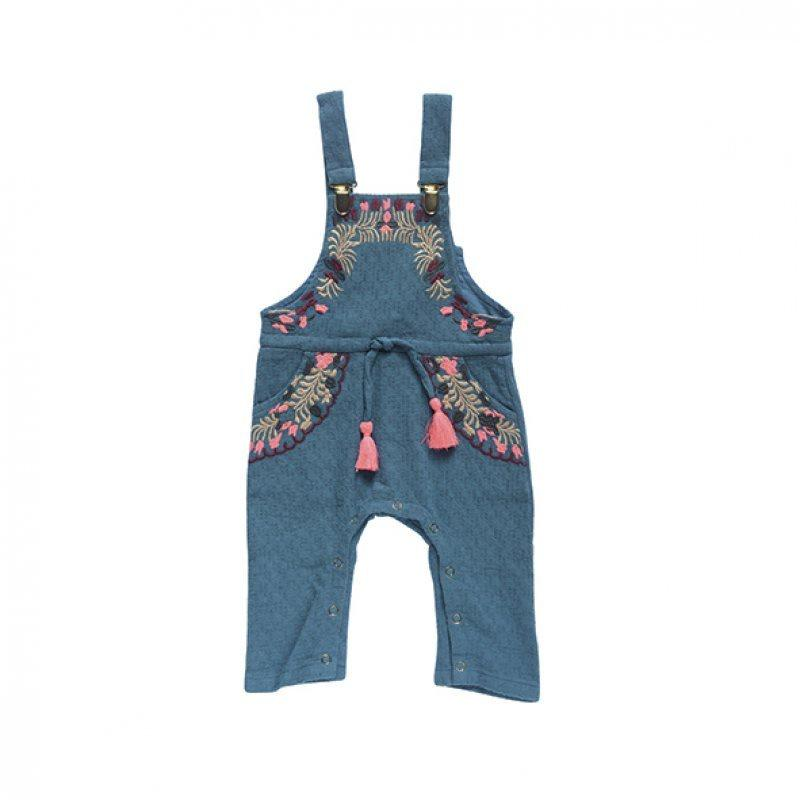 Louise Misha Austin Overalls - Peacock